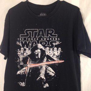 Star Wars The Force Awakens Short Sleeve Tee Shirt
